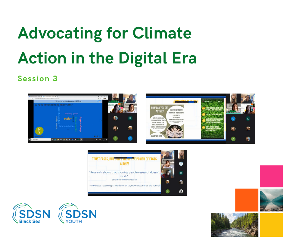Advocating for Climate Action in the Digital Era