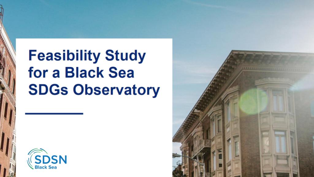 Feasibility Study for a Black Sea SDGs Observatory